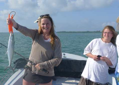 Andrea & Spanish Mackerel, Fort Myers Fishing Report & Fort Myers Fishing Charters.