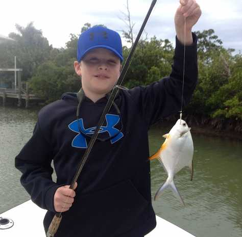 Small Permit, Roosevelt Channel, Captiva, 12-31-13,  Fort Myers Fishing Report & Charters ~ #FortMyersFishing.