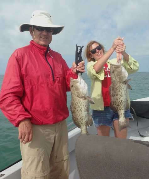 Grouper, 1-13-14, Fort Myers Fishing Report & Charters ~ #FortMyersFishing.