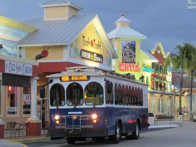 Fort Myers Beach Trolley & Tram Info - Fort Myers Beach Chamber