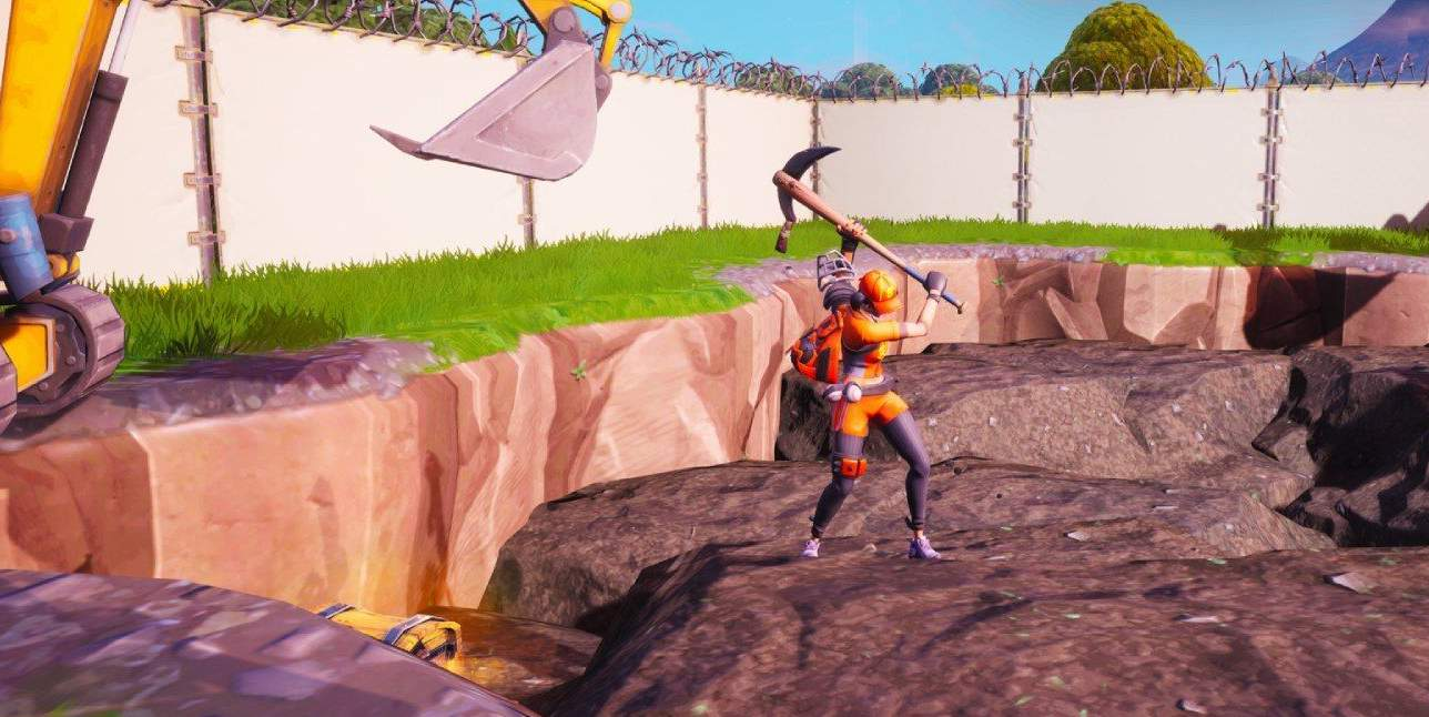 a mysterious rock pool has emerged on the fortnite map and players can help find out what s underneath using their pickaxe the location has been discovered - hidden locations in fortnite