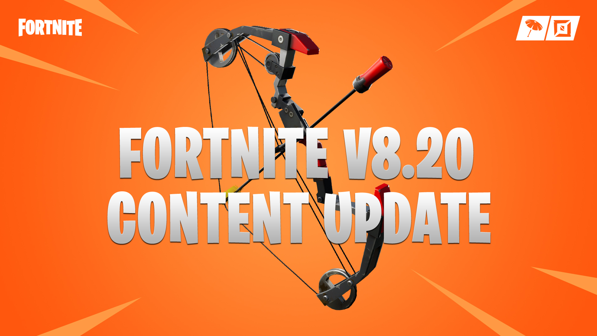 Fortnite V8 20 Content Update Patch Notes Explosive Bow Pepper