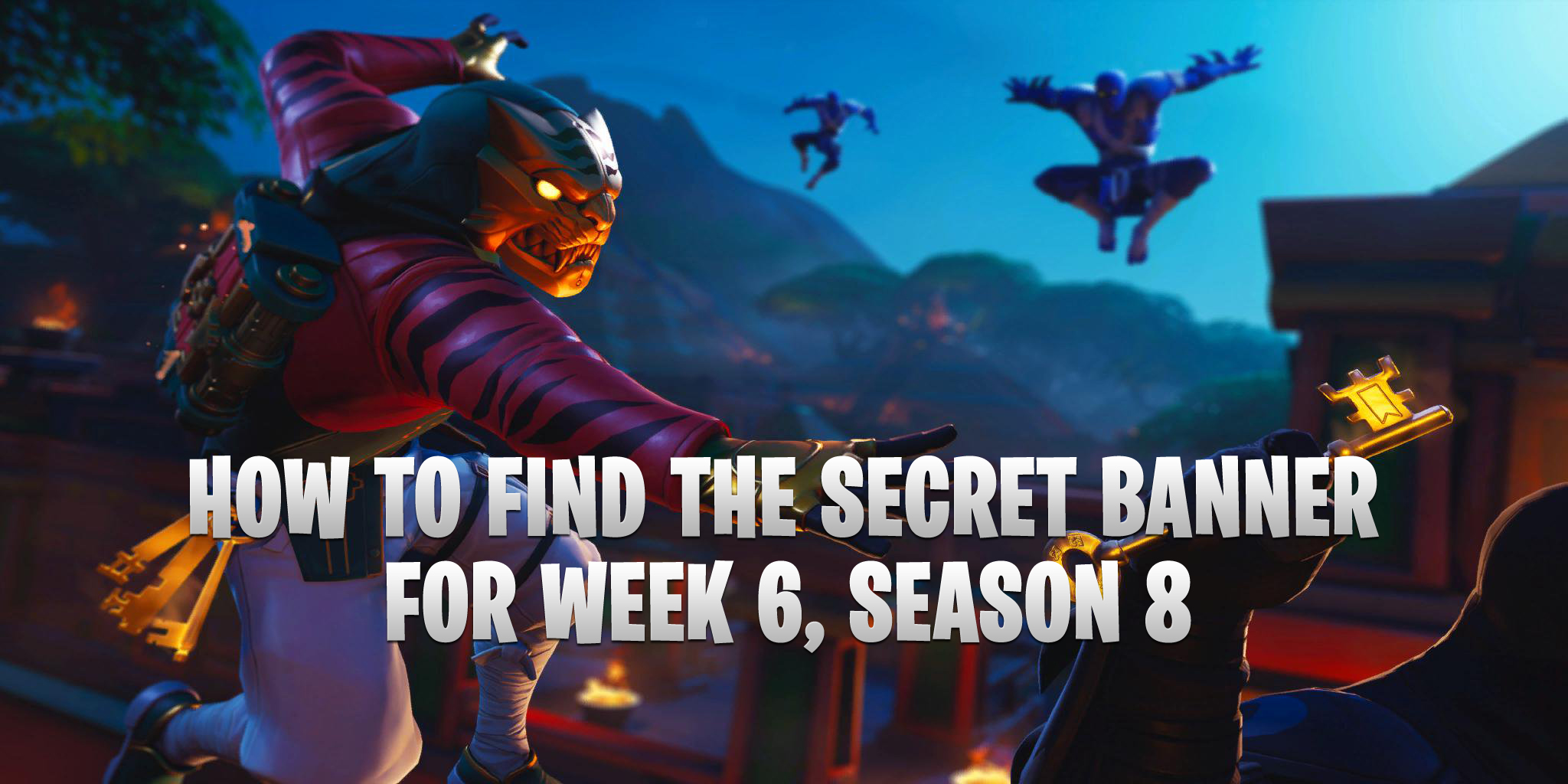Updated How To Find Secret Banner For Week 6 Season 8 Discovery