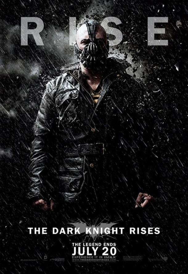 dark knight rises character poster