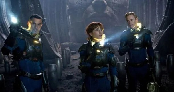 Prometheus 3d movie review