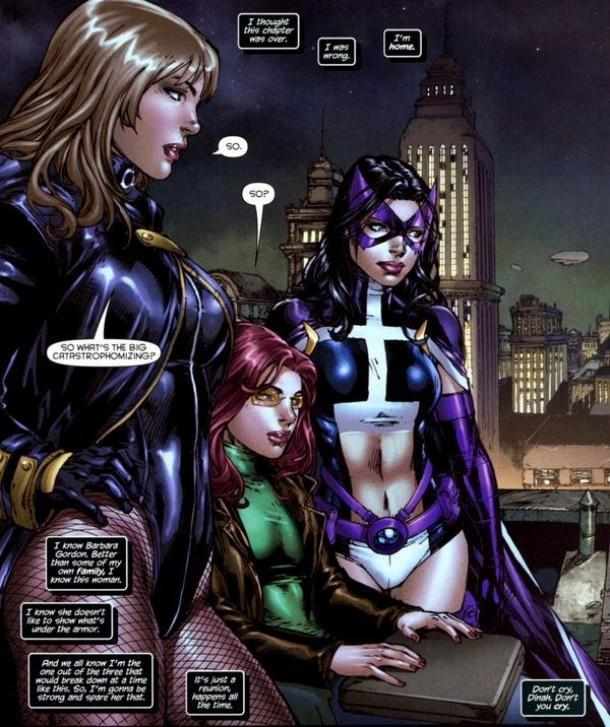 Birds of Prey - End Run vol 1 review