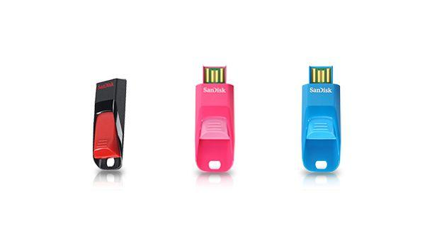 SanDisk Cruzer Edge - Colours