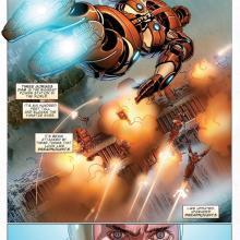 invincible iron man vol 9 hard cover comic book