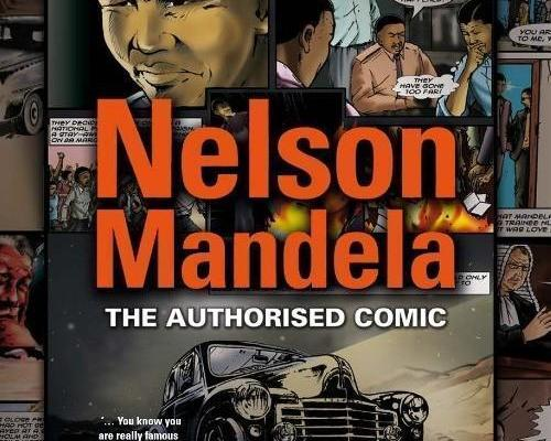 nelson mandela comic book