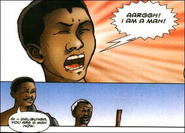 nelson mandela authorised comic book review