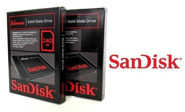 SanDisk Extreme SSD - Header