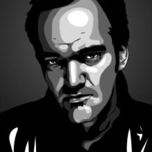 Quentin_Tarantino_by_swajner