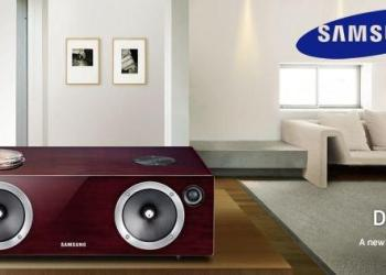 Samsung Wireless Audio with Dock