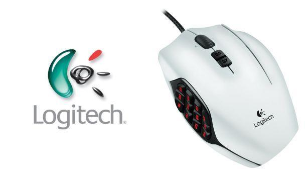 Logitech G600 MMO Gaming Mouse - Header