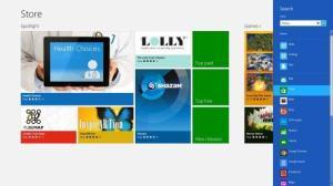 Windows 8 - Store Search