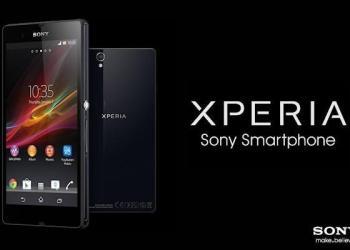Sony Xperia Z - Header