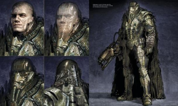 General Zod concept art