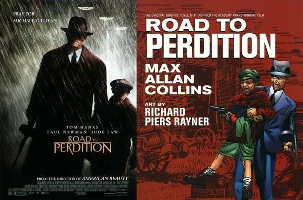 road to perdition comic book movie
