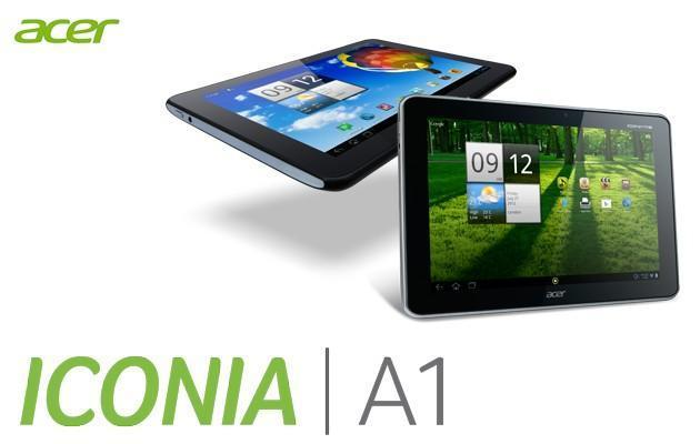 Acer Iconia A1 - Header