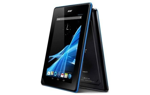 Acer Iconia B1 - Angles