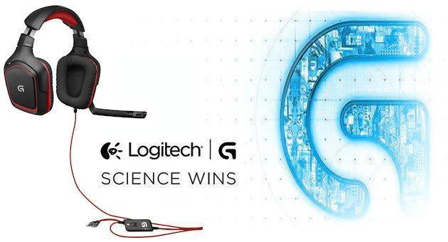 Logitech G230 - Header