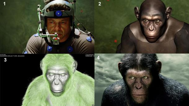 Rise of the Planet of the Apes - Andy Serkis