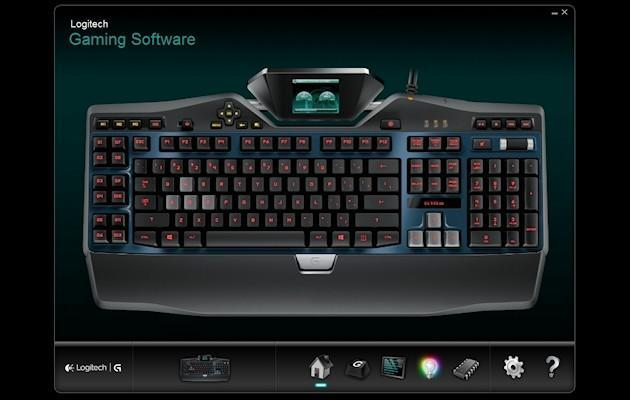 Logitech G19s - Software