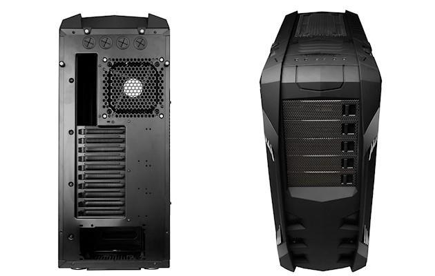 Raidmax Vampire Case - Front Rear