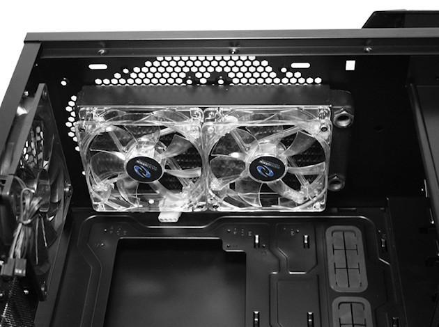 Raidmax Vampire Case - Inside Fan