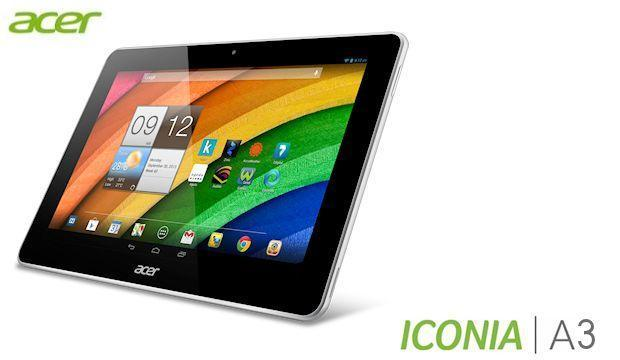 Acer Iconia A3 - Header