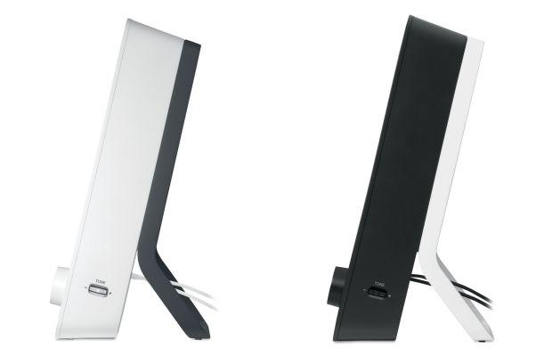 Logitech Z200 Speakers - Sides