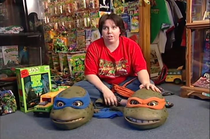 Is Michele Ivey The World's Biggest Ninja Turtles Fan?