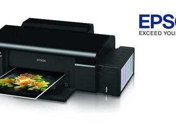Epson L800 Inkjet Photo Printer - Header