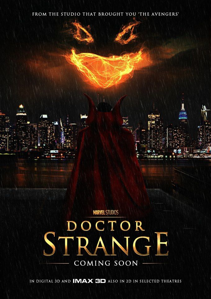 dr strange poster fan art
