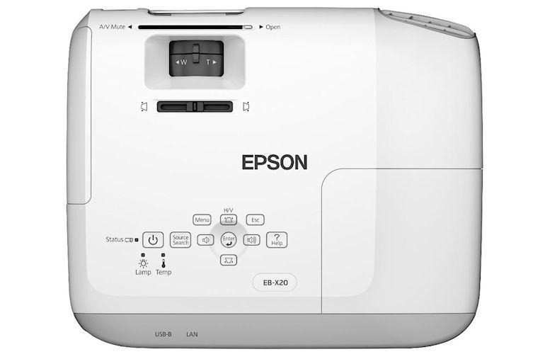 Epson EB-X20 Projector-01