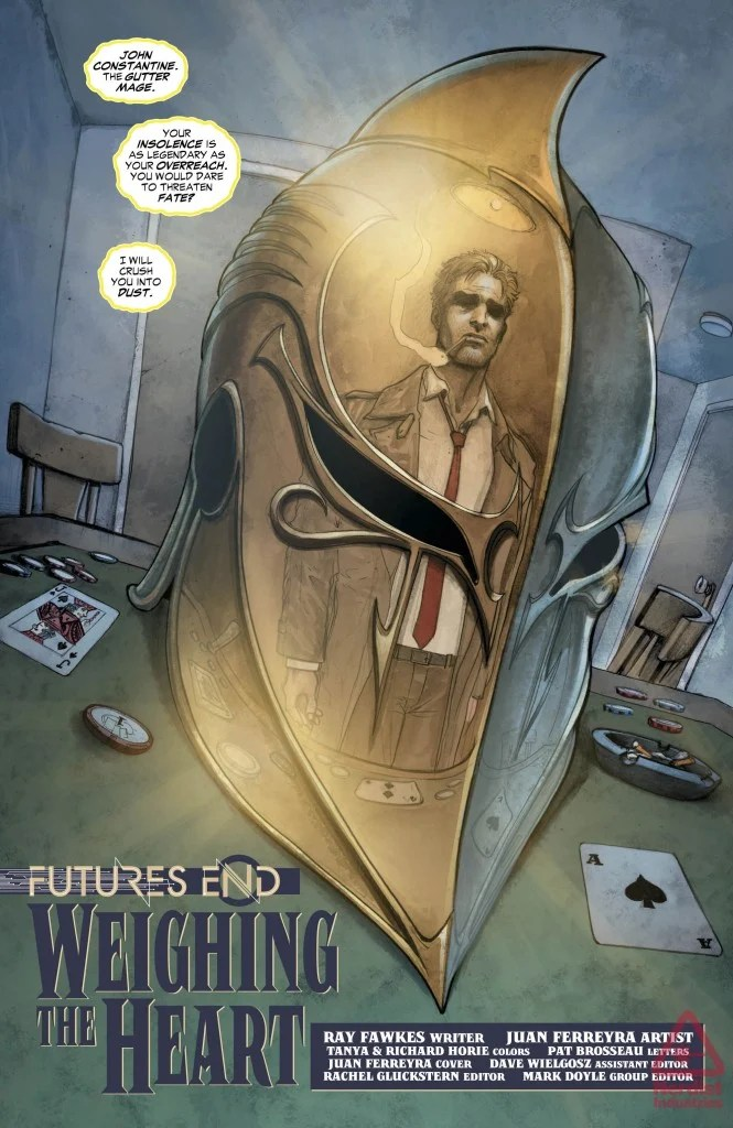 Constantine Futures End review