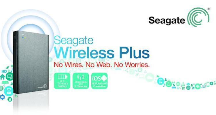 Seagate Wireless Plus 2TB - Header