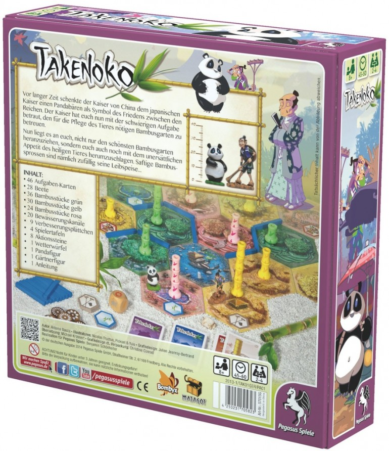 Takenoko board game review