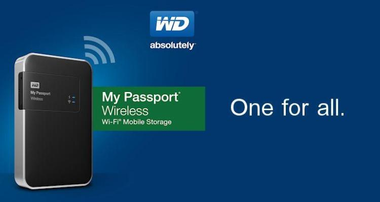 WD My Passport Wireless-Header
