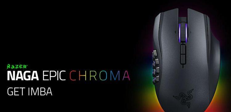 Razer Naga Epic Chroma - Header