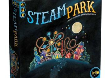 Steam Park Board Game Review