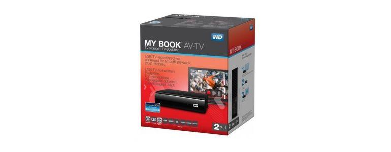 WD My Book AV-TV-01