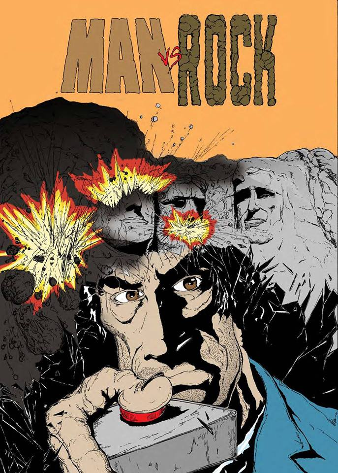 We Interview Man Vs. Rock Comic Book Creators