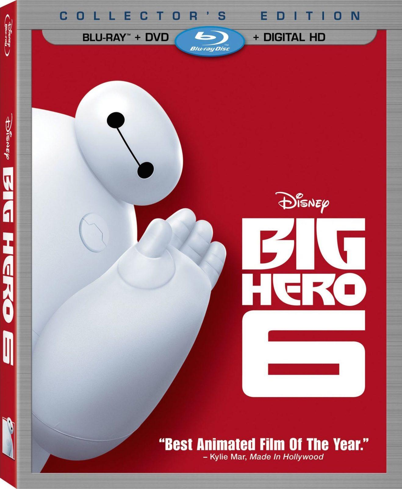 Big Hero 6 Blu-Ray Review