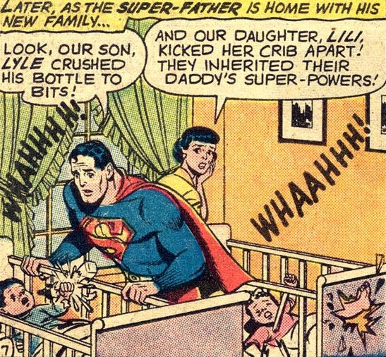 Lyle and Lili, in Superman's Girl Friend Lois Lane #15 (February 1960)