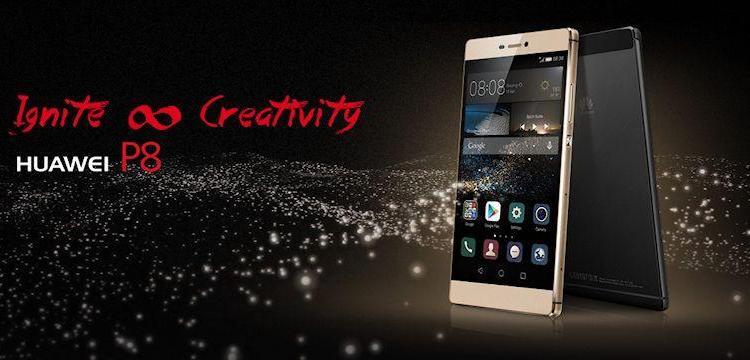 Huawei P8-Header