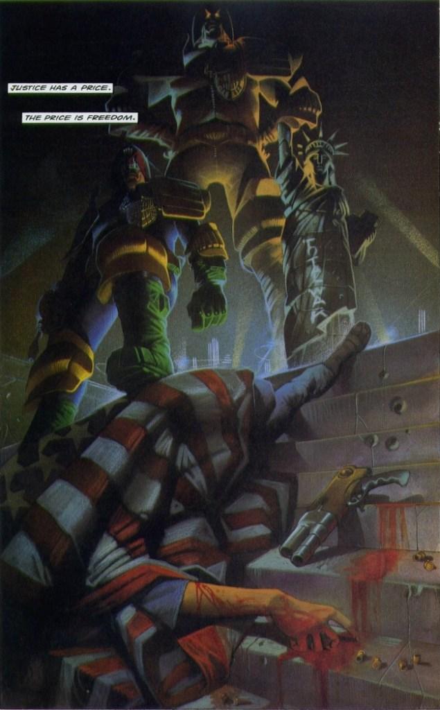 Judge Dredd, C omic Book Review