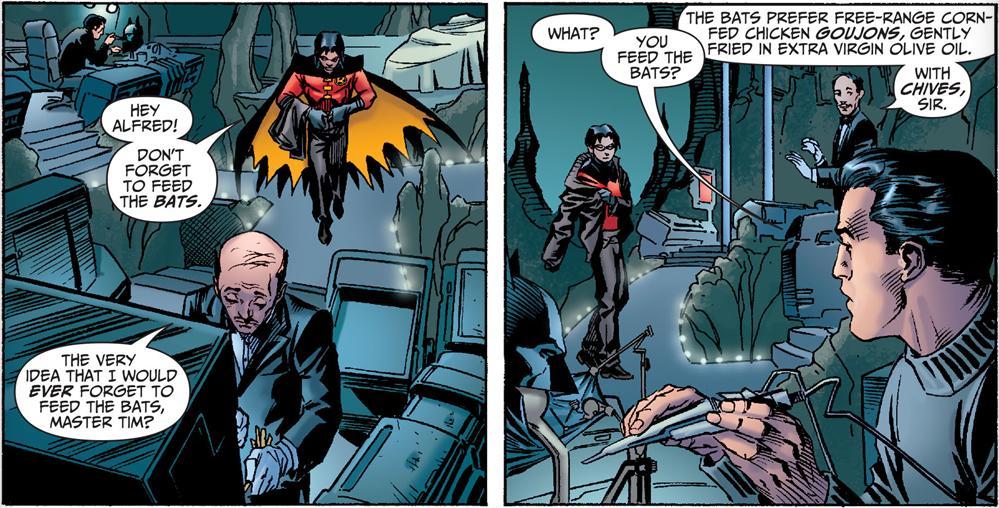 bats in batcave