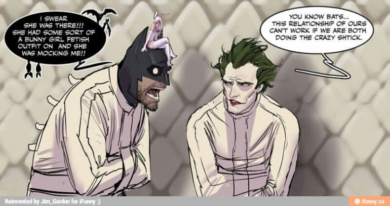 Batman is crazier than the joker