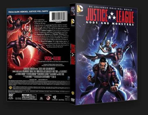 Win a Justice League: Gods and Monsters DVD